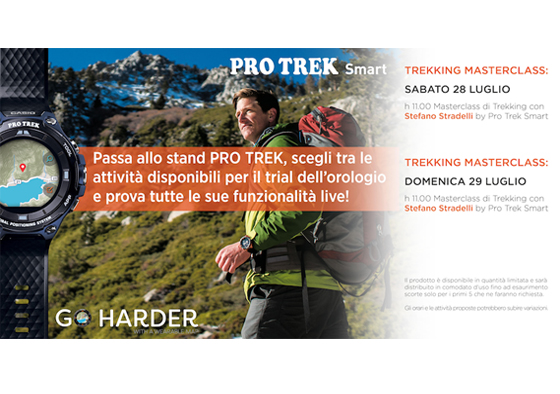 "PRO TREK Smart a Cervinia per un weekend all'insegna dello ""Smart Trekking"""